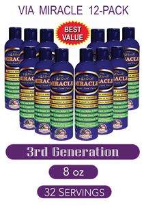 Picture of ViaViente Miracle   8oz   Bottle 12-Pack